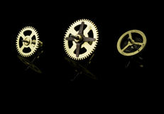 Clockwork gear Royalty Free Stock Photo
