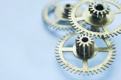 Clockwork gears background Royalty Free Stock Photo