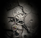 Clockwork with gears and cogwheels Stock Image