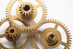 Clockwork gears concept Royalty Free Stock Photo