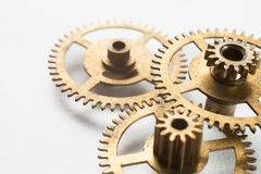 Clockwork gears concept background Royalty Free Stock Images