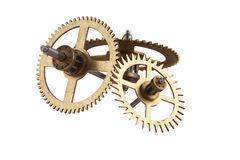 Clockwork gears Royalty Free Stock Images