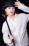 Clockwork Girl Stock Images