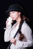 Clockwork Girl Royalty Free Stock Photography