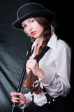 Clockwork Girl Stock Photography