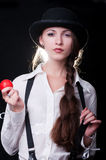 Clockwork Girl Royalty Free Stock Image