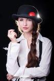 Clockwork Girl Stock Photos
