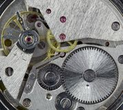 Clockwork inside Royalty Free Stock Photo