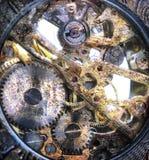 Clockwork inside Royalty Free Stock Image