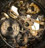 Clockwork inside Royalty Free Stock Photos