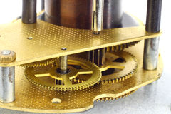 Clockwork macro Royalty Free Stock Photo