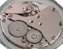 Clockwork, macro-shot. Stock Images