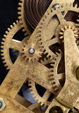 Clockwork mechanism Stock Photo