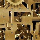 Clockwork mechanism Stock Images