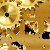 Clockwork mechanism Royalty Free Stock Image