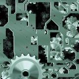 Clockwork mechanism Stock Image