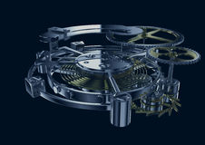 Clockwork mechanism Royalty Free Stock Photography
