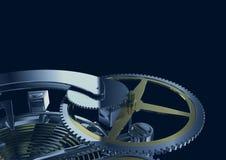 Clockwork mechanism Royalty Free Stock Images