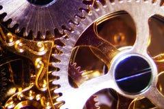 Clockwork. Micro photo of a clockwork royalty free stock image