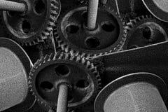 Clockwork Monochrome Stock Images