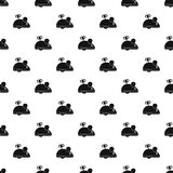 Clockwork mouse pattern vector Stock Image