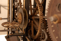 Clockwork old Royalty Free Stock Photo