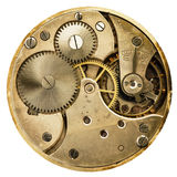 Clockwork old mechanical pocket watch Royalty Free Stock Photo