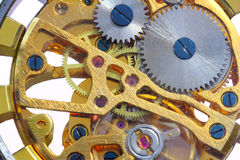 Clockwork  turning Royalty Free Stock Photo