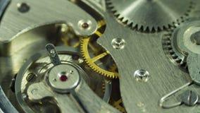 Clockwork vintage antique clock Stock Image