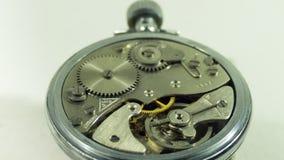 Clockwork vintage antique clock Royalty Free Stock Images