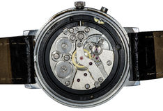 Clockwork vintage mechanical  watches Stock Photos