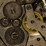 Clockwork vintage mechanical  watches Stock Images