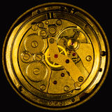 Clockwork vintage mechanical  watches Royalty Free Stock Images