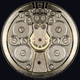 Clockwork vintage mechanical  watches Royalty Free Stock Image