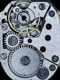 Clockwork vintage mechanical  watches Royalty Free Stock Photo