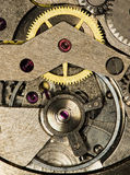 Clockwork vintage mechanical  watches Stock Photo