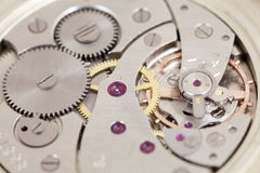 Clockwork of watch Royalty Free Stock Photo