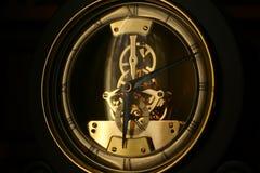 Clockworks. Clock worrks on black backround Royalty Free Stock Photos