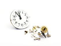 Clockworks Royalty Free Stock Photos