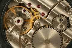 Clockworks Royalty Free Stock Photography