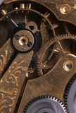 Clockworks. The inner workings of a clock Royalty Free Stock Photography