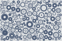Clockworks blue background stock photos