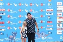 Cloe Romagnoli al Giffoni Ekranowy festiwal 2016 Zdjęcie Royalty Free