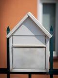 Cloes вверх почтового ящика на улице Стоковая Фотография