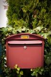 Cloes вверх почтового ящика на улице Стоковое Изображение