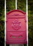 Cloes вверх почтового ящика на улице Стоковые Фото