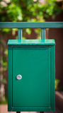 Cloes up of a mailbox on the street Stock Photography