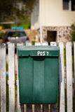 Cloes up of a mailbox on the street Stock Photo