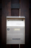 Cloes up of a mailbox on the street Royalty Free Stock Photos