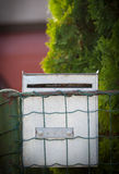 Cloes up of a mailbox on the street Royalty Free Stock Photo